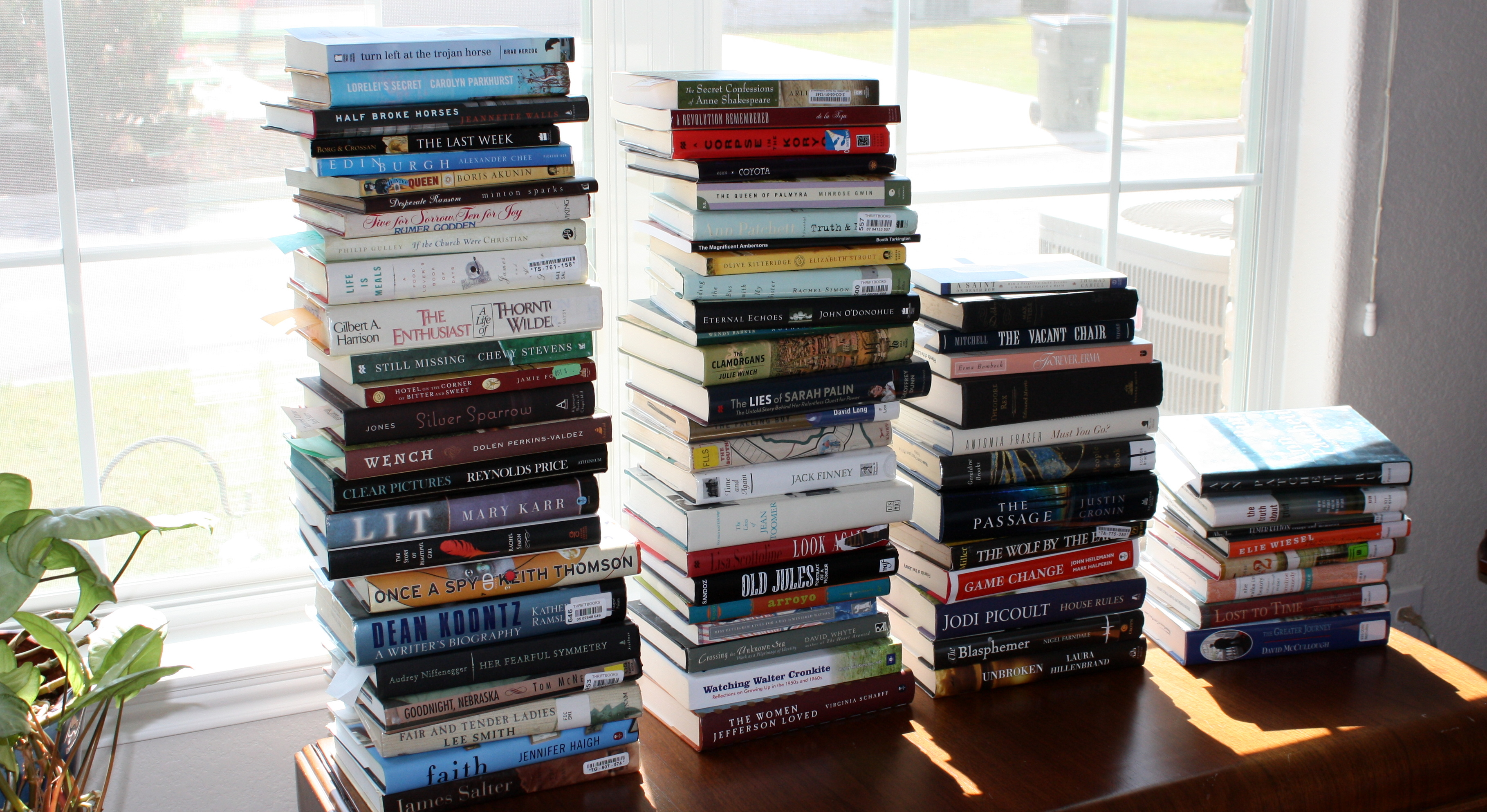 books stacked stacks stack place aimless purpose